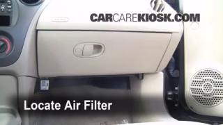 2003-2007 Saturn Ion-2 Cabin Air Filter Check