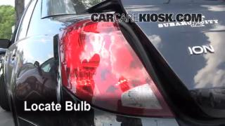 Tail Light Change 2003-2007 Saturn Ion-2