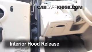 Open Hood How To 2003-2007 Saturn Ion