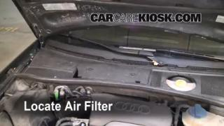 Cabin Filter Replacement: Audi A6 1998-2004