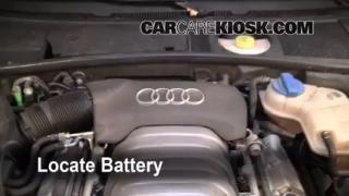 Battery Replacement: 1998-2004 Audi A6