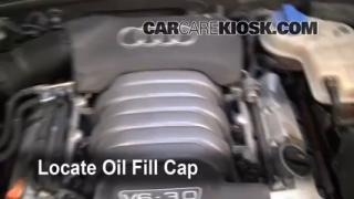 How to Add Oil Audi A6 (1998-2004)