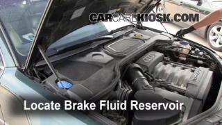 2004-2010 Audi A8 Quattro Brake Fluid Level Check