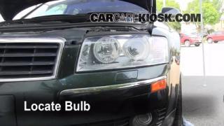 Parking Light Change 2004-2010 Audi A8 Quattro