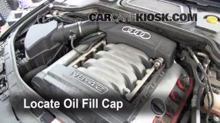 How to Add Oil Audi A8 Quattro (2004-2010)