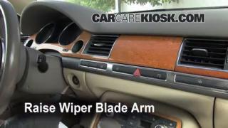 Front Wiper Blade Change Audi A8 Quattro (2004-2010)