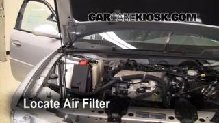 1997-2005 Buick Century Cabin Air Filter Check