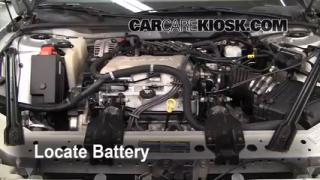 Battery Replacement: 1997-2005 Buick Century
