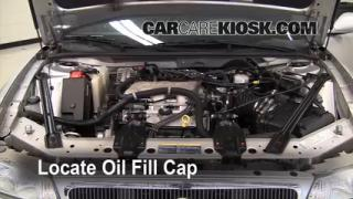 How to Add Oil Buick Century (1997-2005)