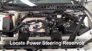 Follow These Steps to Add Power Steering Fluid to a Buick Century (1997-2005)