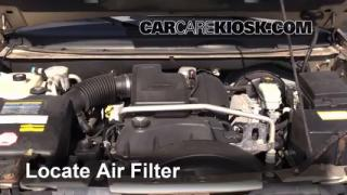 Air Filter How-To: 1998-2004 Isuzu Rodeo