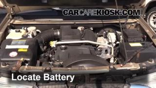How to Clean Battery Corrosion: 1998-2004 Isuzu Rodeo