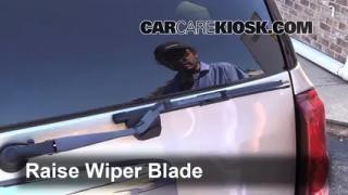 Rear Wiper Blade Change Isuzu Rodeo (1998-2004)