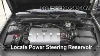 Follow These Steps to Add Power Steering Fluid to a Cadillac DeVille (2000-2005)