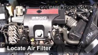 2000-2005 Chevrolet Impala Engine Air Filter Check