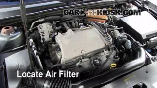 2004-2008 Chevrolet Malibu Engine Air Filter Check