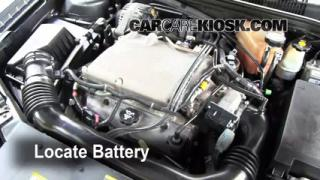 How to Clean Battery Corrosion: 2004-2008 Chevrolet Malibu