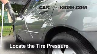 Properly Check Tire Pressure: Chevrolet Malibu (2004-2008)