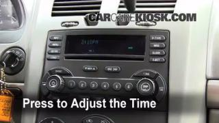 How to Set the Clock on a Chevrolet Malibu (2004-2008)