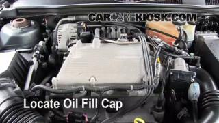 How to Add Oil Chevrolet Malibu (2004-2008)
