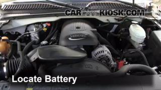 Battery Replacement: 1999-2007 GMC Yukon