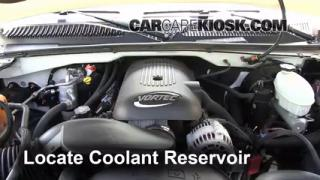 Coolant Level Check: 1999-2007 Yukon