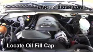 How to Add Oil Chevrolet Silverado 1500 (1999-2007)