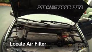 2004-2008 Chrysler Pacifica Engine Air Filter Check