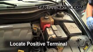 How to Jumpstart a 2004-2008 Chrysler Pacifica