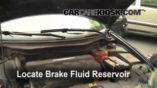 2004-2008 Chrysler Pacifica Brake Fluid Level Check
