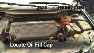 How to Add Oil Chrysler Pacifica (2004-2008)