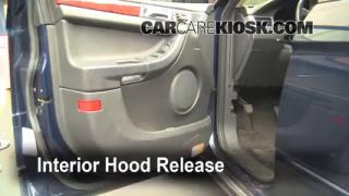Open Hood How To 2004-2008 Chrysler Pacifica