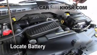 Battery Replacement: 2004-2009 Dodge Durango