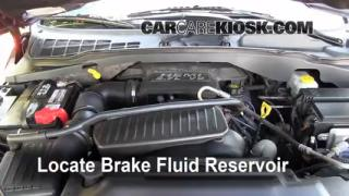 Add Brake Fluid: 2004-2009 Dodge Durango