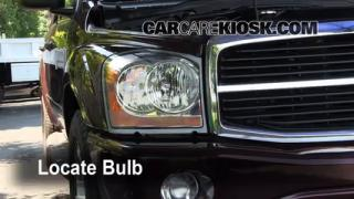 Headlight Change 2004-2009 Dodge Durango