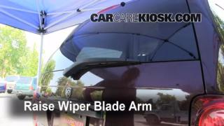 Rear Wiper Blade Change Dodge Durango (2004-2009)
