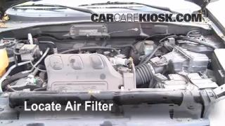 2001-2004 Ford Escape Engine Air Filter Check