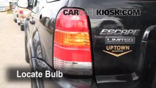 Tail Light Change 2001-2004 Ford Escape