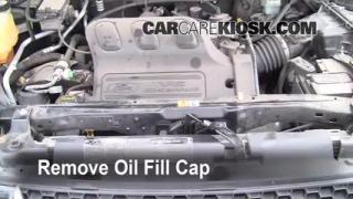 How to Add Oil Ford Escape (2001-2004)