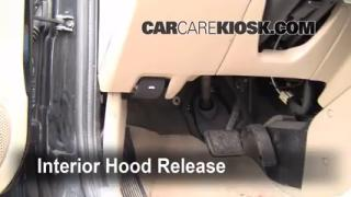Open Hood How To 2001-2004 Ford Escape