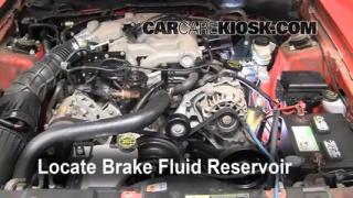 Add Brake Fluid: 1994-2004 Ford Mustang