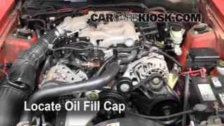 How to Add Oil Ford Mustang (1994-2004)