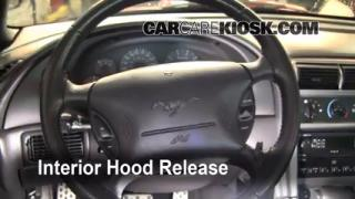 Open Hood How To 1994-2004 Ford Mustang