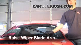 Front Wiper Blade Change Ford Mustang (1994-2004)