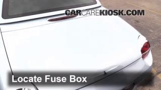 2000-2002 Lincoln LS Interior Fuse Check