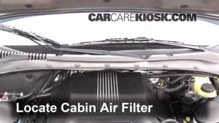 how to change cabin air filter on a ford territory