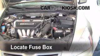 Blown Fuse Check 2003-2007 Honda Accord