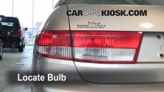 Brake Light Change 2003-2007 Honda Accord