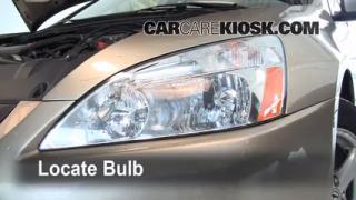 Headlight Change 2003-2007 Honda Accord