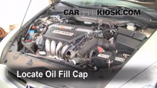 How to Add Oil Honda Accord (2003-2007)